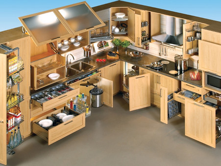 """Styling Your Kitchen's """"Inside the Cabinets"""" Storage"""