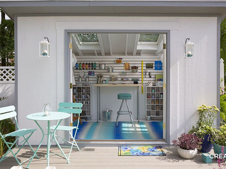 Design Tips for Your She Shed