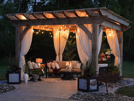 Backyard Patio Retreat