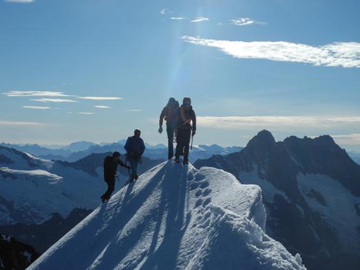Eiger (3970 m.ü.M.) Mittelegigrat