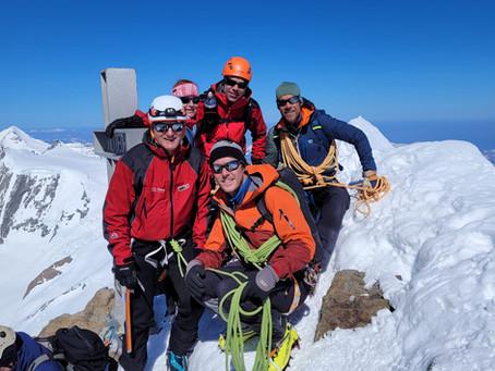 Skihochtourentage Jungfraugebiet / Ski randonée dans la région de la Jungfrau