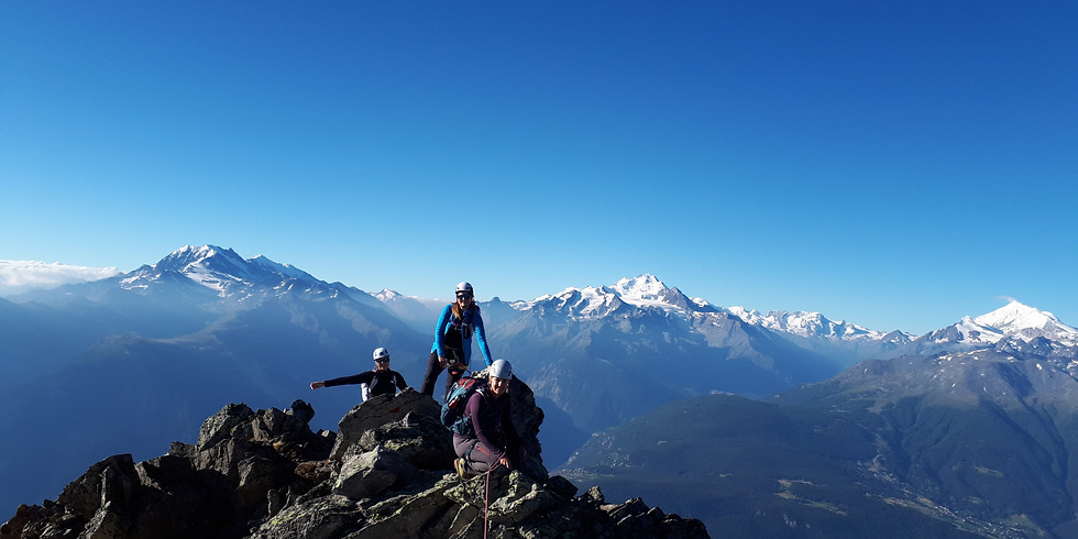 Wiwanni Mehrseillängenrouten – Kletterkurs