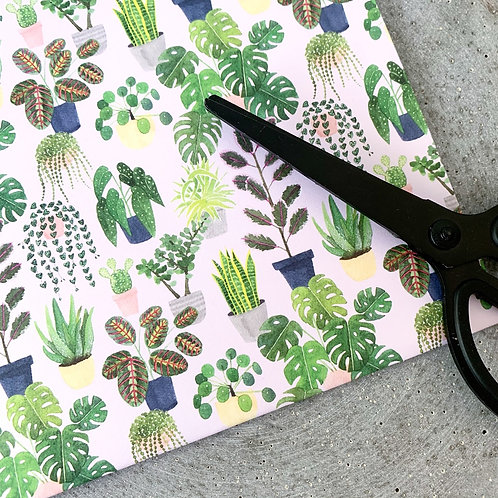 Plants Wrapping Paper