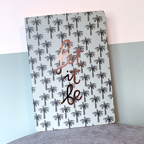 Let It Be A5 Notebook