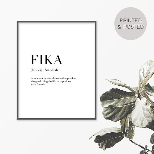 Fika Print
