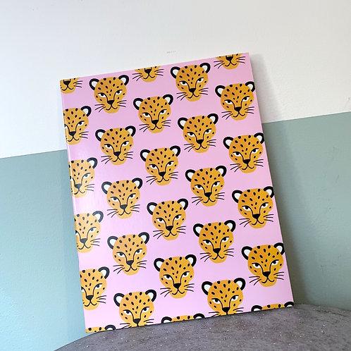 Pink Cheetah Notebook