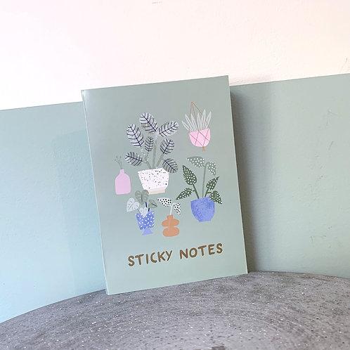 Plant Sticky Notes
