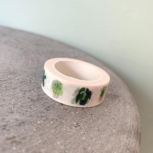 Plants Washi Tape