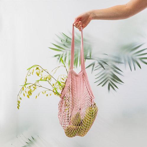 String Shopper Bag - Pink