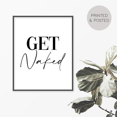 Get Naked Print