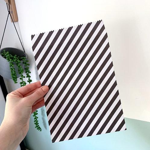 Stripe Gift Bag
