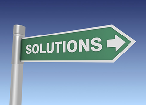 sign with solutions