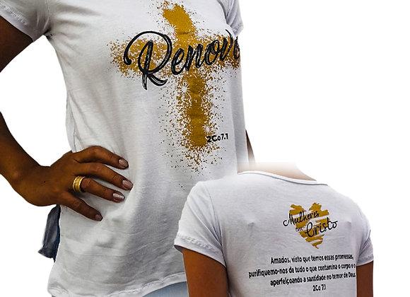Camiseta Mulheres em Cristo 2021