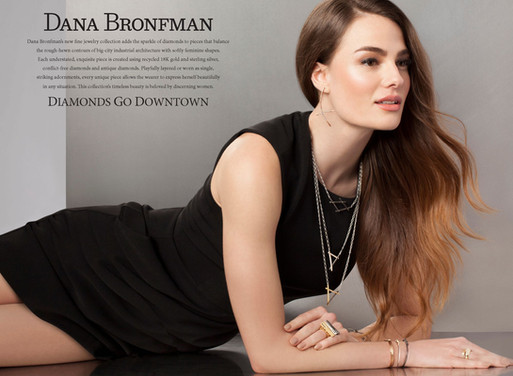 Dana Bronfman Jewelry Shoot