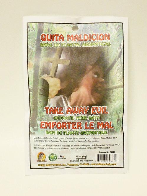 Quita Maldicion Herb Bath (Take Away Evil)