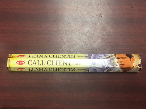 Call client incense sticks (20ct) Llama Clients