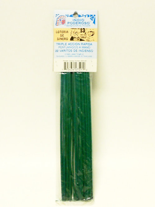 Lucky Money Drawing - Loteria de Dinero Incense Sticks