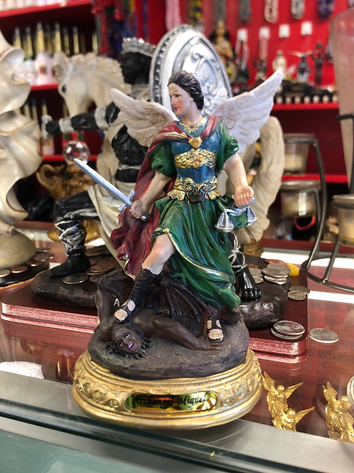 "8"" St. Michael the archangel Staute"