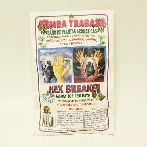 Tumba Trabajo - Hex Breaker Herb Bath