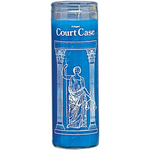 COURT CASE - 7 DAY GLASS CANDLE