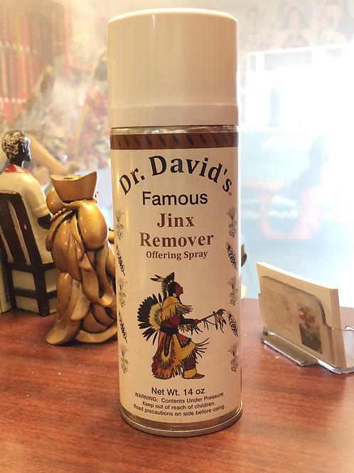 Jinx remover aerosol spray