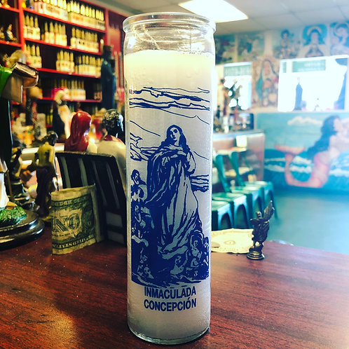 Immaculate conception 7-day candle
