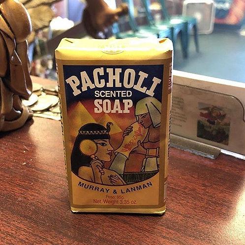 3.35oz Patchuli soap