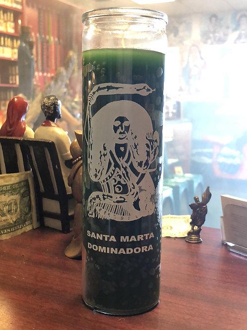 St. Martha dominadora 7-day Candle