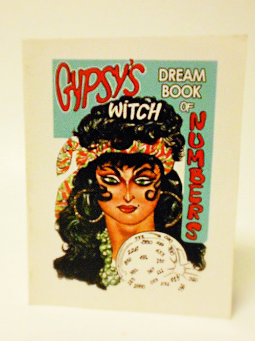 Gypsy's Witch Dream Book of Numbers (pocket size)