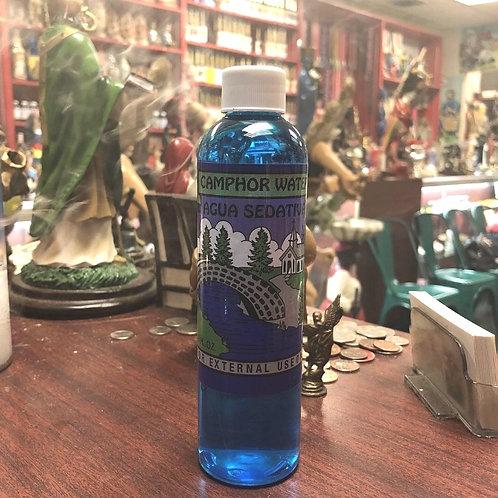 8oz Camphor water (Agua Sedativa)