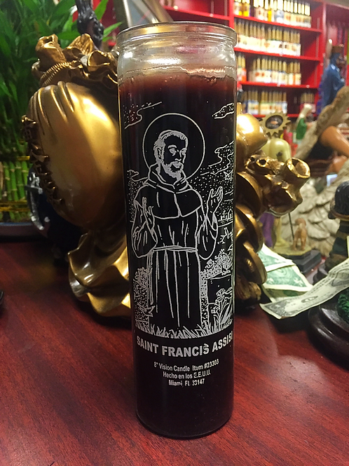 Saint Francis de Assisi / San Francesco - 7 Day Candle
