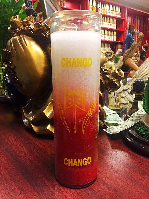 Orisha Chango - 7 Day Candle