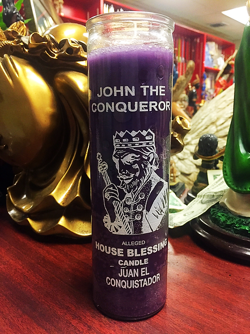 High John the Conqueror / Juan El Conquistador - 7 Day Candle