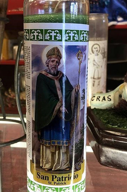 7-Day St. Patrick Candle