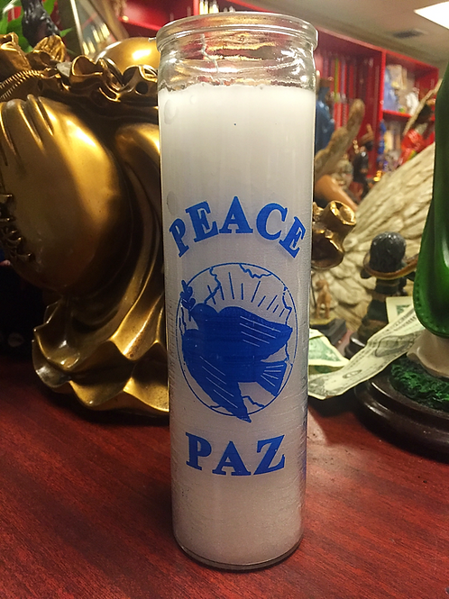 Peace - 7 Day Candle