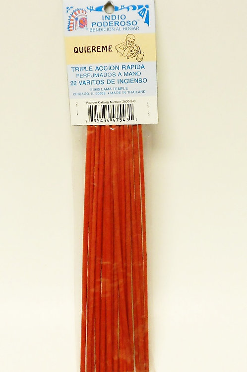 Love Me (Quiereme) Incense Sticks