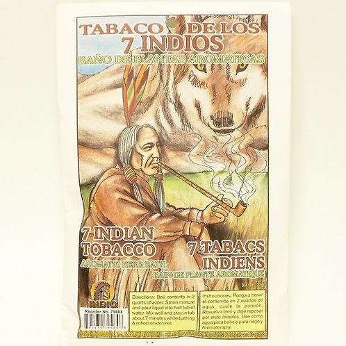 7 Indian Tobacco -Tabaco de Los 7 Indios
