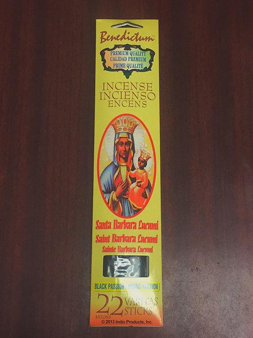 St. Barbara Africana Lucumi black passion (22ct)