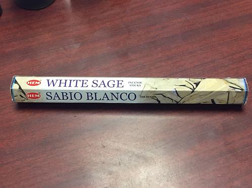 White Sage Incense stick Sabio Blanco (20ct)