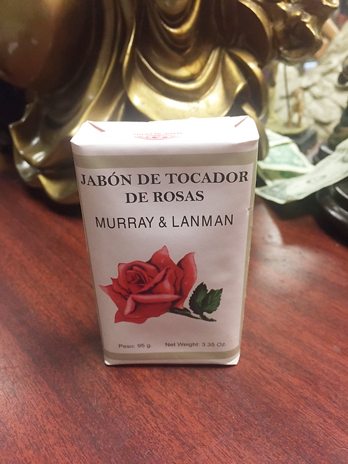 Murray & Lanman Rose Soap/ Jabon de Rosas