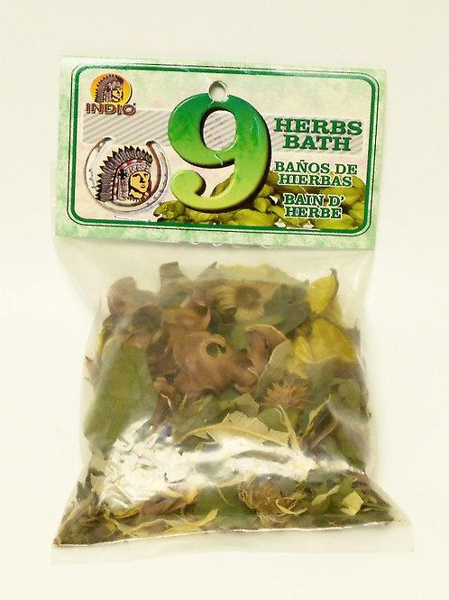 9 Herb Bath