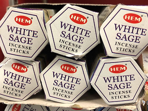 White sage incense sticks 20ct