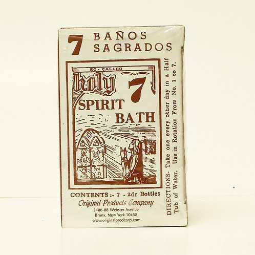 7 Holy Spirit Bath - 7 Banos Sagrados