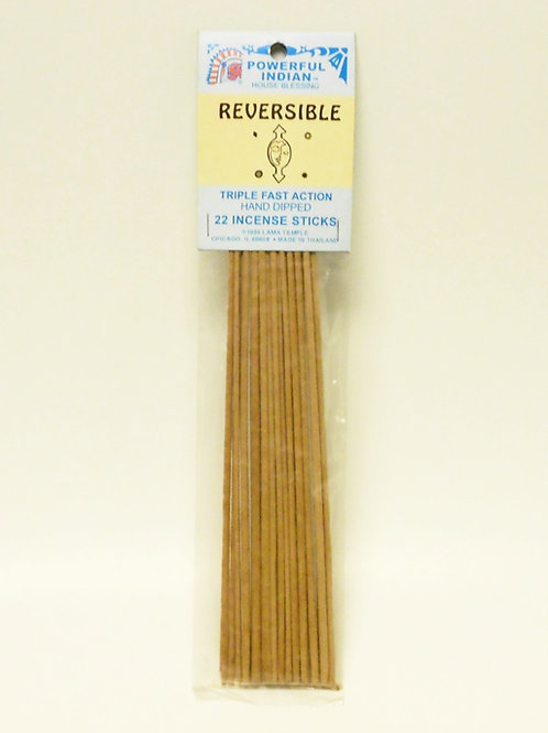Reversible Incense Sticks