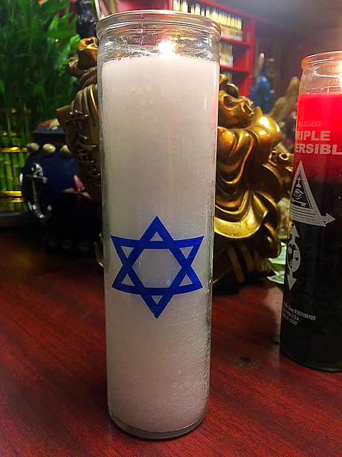 Star of David - 7 Day Candle