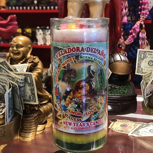 New Years Candles (dresses/scented)
