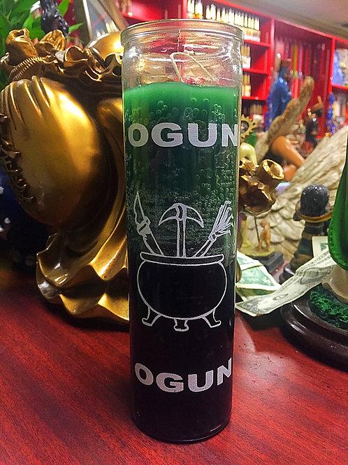 Orisha Ogun - 7 Day Candle