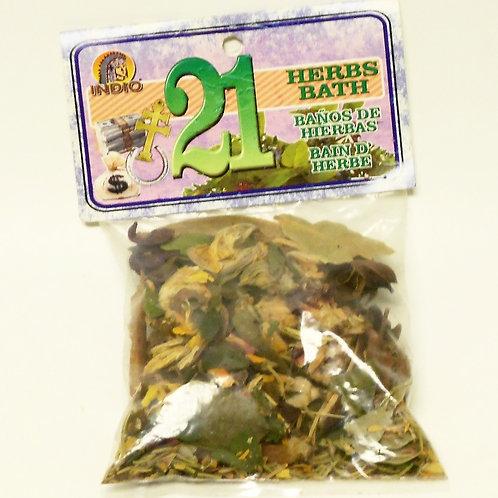 21 Herb Bath
