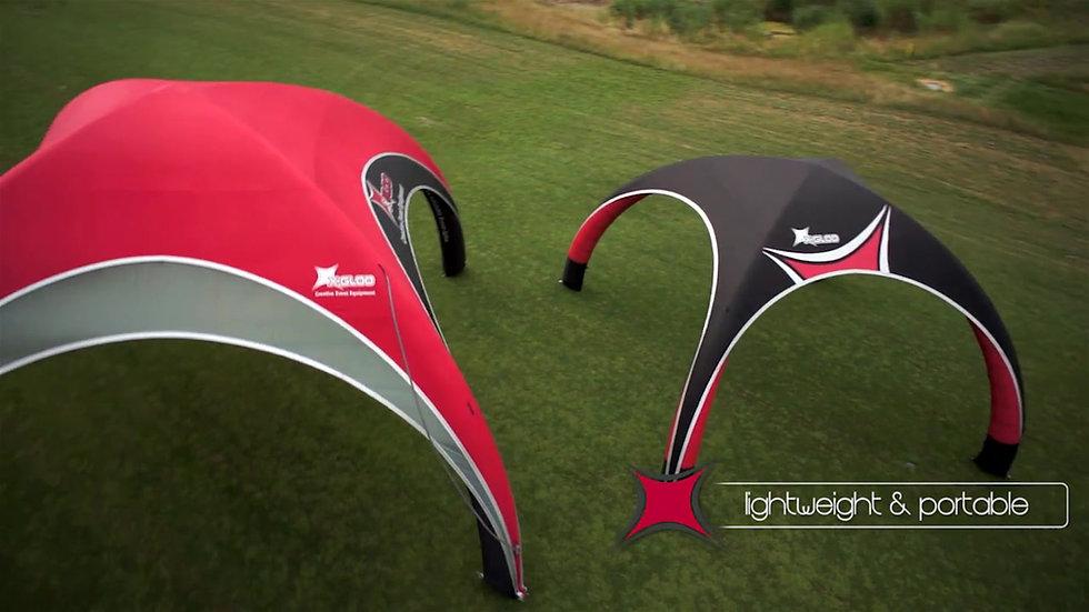 X-Gloo Inflatable Tents