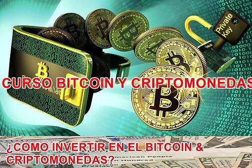 ¿COMO INVERTIR EN EL BITCOIN Y CRIPTOMONEDAS?